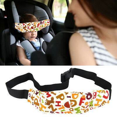 1Pc Baby Child Head Support Stroller Buggy Pram Car Seat Belt Sleep Safety Strap