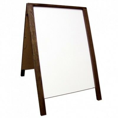 Dry Erase Double Sided Sidewalk Pavement  A-Frame Sign