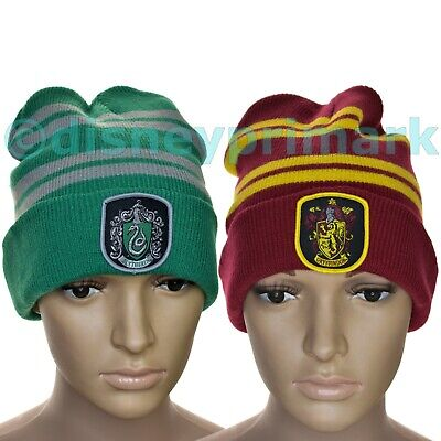 RARE Official KNITTED Harry Potter BEANIE HAT Cap Bobble GRYFFINDOR Primark UK