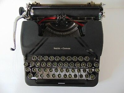 1947 Portable Smith - Corona Sterling Typewriter