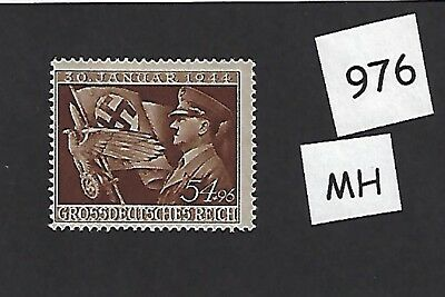 MH Postage stamp / Adolph Hitler & Nazi's assume control 10th anniversary 1944
