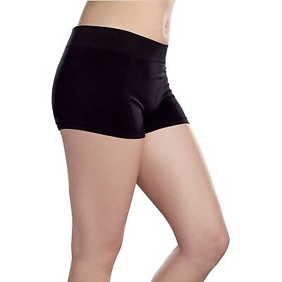 Ladies Boy Booty Shorts Boxers Nylon Spandex Comfortable Stretch Under Dress