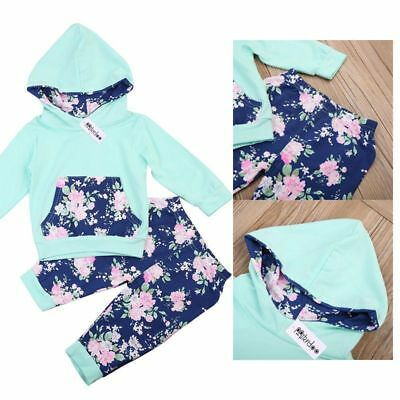 Mikrdoo 2018 Baby Clothing Autumn Winter Toddler Baby Boys Tops Floral Hoo W4F5)
