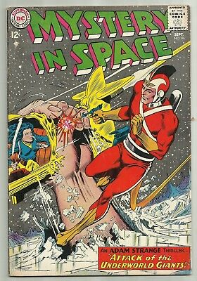 Mystery In Space #86 VG+ Adam Strange Attack of the Underworld Giants
