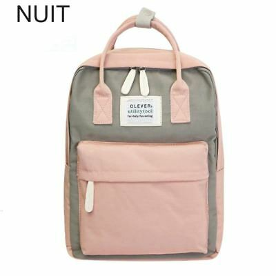 Backpack Laptop 15Inch Bagpack Female Canvas College Teenagers For Bag School Ba