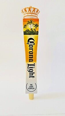 Corona Light Beach Tap Handle with Crown Topper - New in box - fast shipping !!!