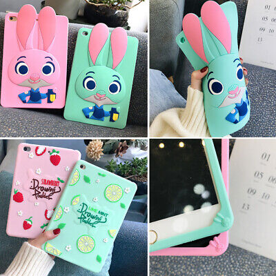 "Heavy Duty Silicone Kids Shock Proof Cover Case for Apple iPad 9.7"" 6th Gen 2018"