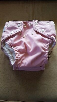 6 girls Fuzzibuns Cloth Diapers