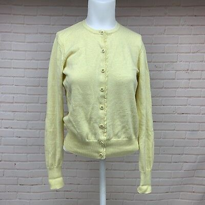 85b83303bef NWOT CABI 277 Sunny Cardigan in Sunshine Yellow Speckled Womens Sz ...