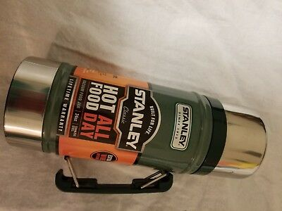 *STANLEY* Classic Wide Mouth 24 oz Stainless Bottle Canteen Thermos