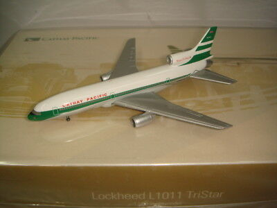 """Herpa Wings 500 Cathay Pacific CX Lockheed L-1011 """"Super Tristar """""""" 1:500 NG"""