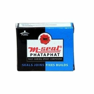 10 PIDILITE M-SEAL PHATAPHAT FAST CURING EPOXY COMPOUND 25 gm