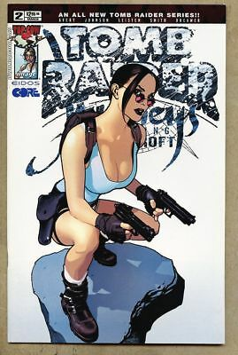 Tomb Raider Journeys #2-2001 vf- 7.5 Image Top Cow Adam Hughes cover