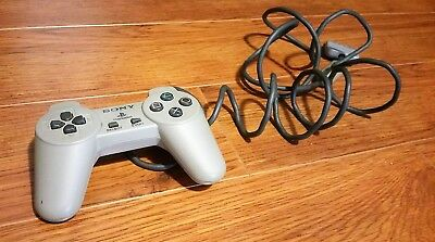 Official OEM Sony PS1 OEM Controller Grey SCPH-1080 - PlayStation 1 - USED