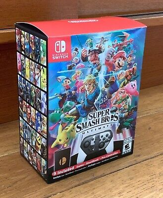 Super Smash Bros Ultimate Special Edition, Nintendo Switch, NEW! Free Shipping!