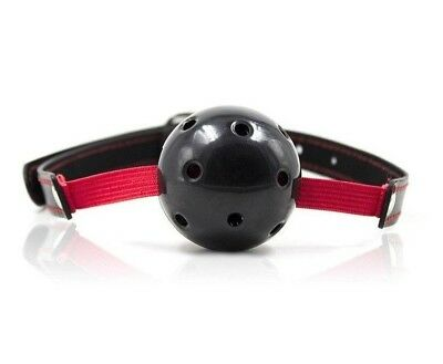 Breathable ball gag stretch nero morso fetish costrittivo bondage sexy black