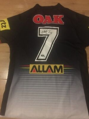 Nathan Cleary Signed Penrith Panthers Jersey