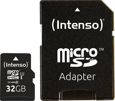 Intenso Premium microSDHC-Karte 32GB Class 10, UHS-I inkl. SD-Adapter