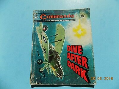 Commando Comic 616 - Dive After Dark  - 1972