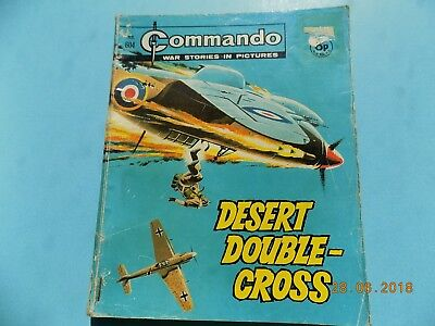 Commando Comic 604 - Desert Double Cross  - 1971