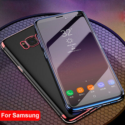 Luxury Slim Shockproof Silicone Clear Case Cover For Samsung Galaxy S6 A5 A7 A9