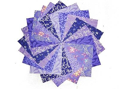 """10 10X10"""" Quilting LAYER CAKE Squares Purple Passion/Shades of Purple/BUY IT NOW"""