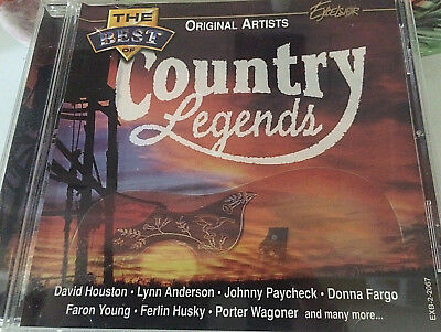 The Best of Original Artists Country Legends David Houston Lynn Anderson Johnny