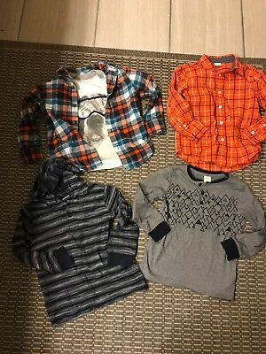 Gymboree Boys Lot Of 4t Long Sleeved Tops