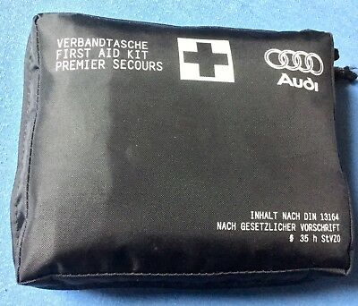 Neu Original Audi Verbandtasche First Aid Kit 8W0.860.282 B