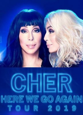 1 Ticket to Cher 1/31/19 Bridgestone Arena Nashville, TN Cher - Live in Concert
