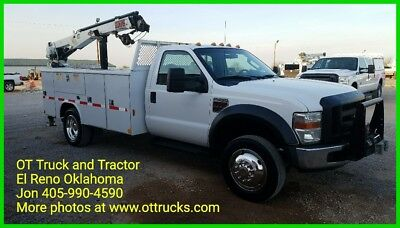 2010 Ford F-450 5000 Lb Crane 11ft Mechanics Service Body F450 6.4L Diesel 2wd