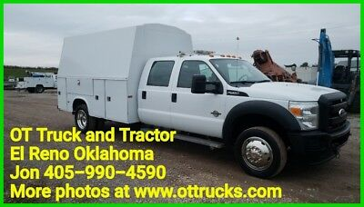 2011 Ford F-550 F550 Knapheid 11ft KUV Bed Belt Drive Compressor 6.7L Diesel