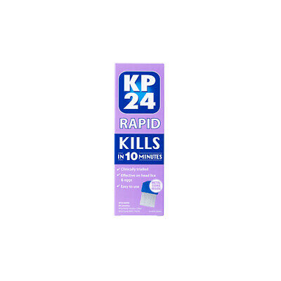 NEW KP24 Head Lice Control Lotion Rapid 150ml