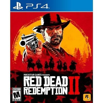 Sealed PS4 Red Dead Redemption 2 - NEW