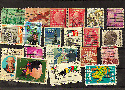 20 Briefmarken   USA  No. 028