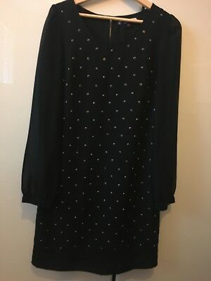 Women black dress/ tunic size 8 NEXT