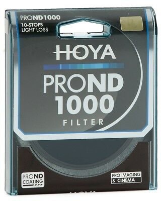 Clearance Hoya Pro ND 1000 10 Stop 82mm Filter