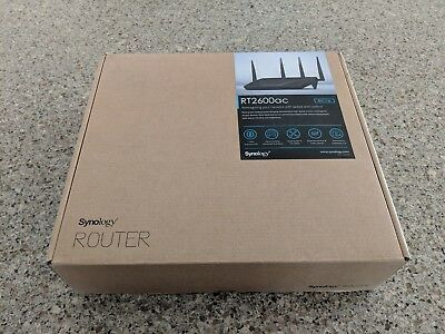 Synology Ethernet Wireless Router, RT2600ac (802.11ac)