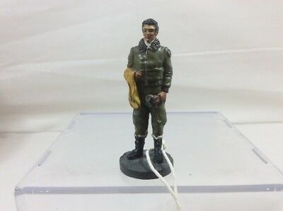 Franklin Mint WWII Metal Toy Soldier- Army Air Corps Pilot - Detailed Figure