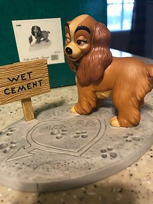 walt disney classics collection figurine Lady, From Lady And The Tramp