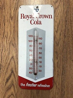 Old Vintage RC Royal Crown Cola Thermometer