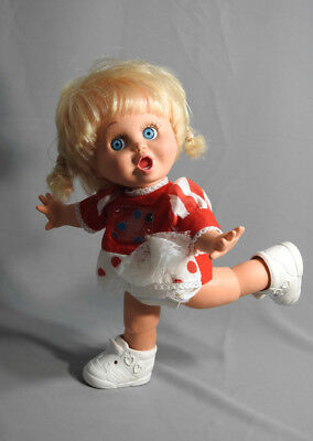 Vintage Galoob Baby Face Doll So Surprised Suzie #2 Original Outfit