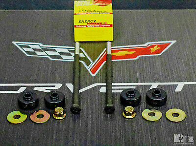 "1984 TO 1996 Corvette C4 Rear Suspension Kit - eBays Longest Drop With 11""  Bolts"