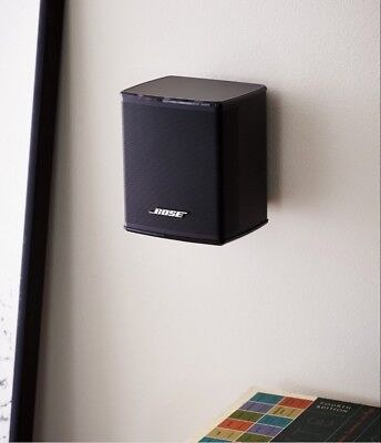Bose 300 Cinemate Virtually Invisible Surround Speaker Wall Mount Black