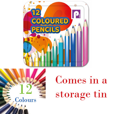 12 x HALF SIZE COLOURING COLORING PENCIL PACK FOR SCHOOL CLASS CHILDREN/KIDS ART