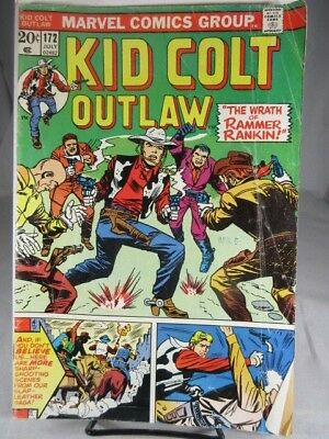 Kid Colt Outlaw #172 in Very Fine-  condition. Marvel comics DR