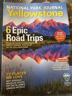 National Park Journal Yellowstone 2017 Edition Plan for 2019 Sturgis Rally