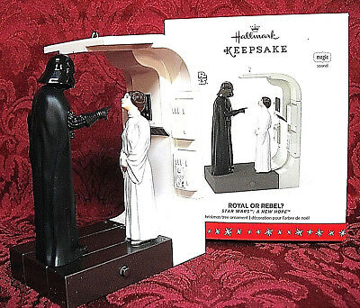 NEW 2016 Royal Or Rebel Hallmark Ornament Star Wars A New Hope