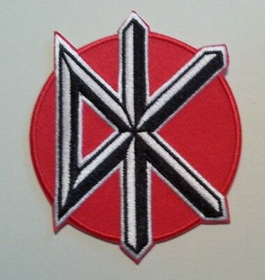 """Dead Kennedys Patch~Embroidered~Iron or Sew on~3 1/2"""" x 2 7/8""""~British Punk Rock"""