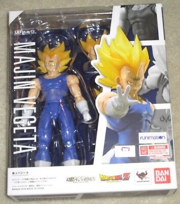 NEW Bandai Tamashii SH S.H. Figuarts Dragon Ball Z Super DBZ Majin Vegeta in US
